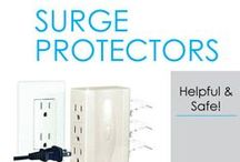 Surge Protectors / It can be easy to forget about some of the dorm necessities you need when going to college. There are so many things to think of, after all. When doing your dorm room shopping, don't forget about dorm surge protectors and college extension cords!