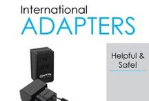 International Adapters / Here you will find DormCo's selection of International Adapters. If you're going to college internationally or plan on traveling or taking advantage of your college's study abroad programs, you're going to need International Adapters and possibly even converters. This is due to the electrical outlets not being the same in all countries. Take a look around at our options and evaluate what you need.