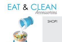 Eat & Clean Accessories / Cooking accessories for college are more than dorm accessories! They're much needed dorm items for college for dorm snacks and dorm meals. Cooking in college requires dorm room supplies, so include these cheap dorm items.