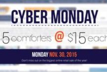 CYBER MONDAY  - 15 Comforters @ $15 EACH! / You'd be crazy to miss this sweet deal! 15 Designer Comforters for only $15 each!