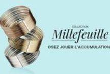 Collection Millefeuille 2016 / Nouvelle collection Agatha Paris 2016. Des accumulations, des joncs infinis et un nouveau sigle pour le plaisir de toutes les fashonistas.