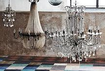 lightning : CHANDELIERS : / żyrandole / / interesting, funny chandeliers ideas