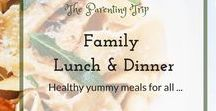Family Lunch & Dinner / All  yummy, easy and above all family friendly recipes I want to try or already prepared and loved. Picky eaters will be also pleased. Always an eye for proper nutritional values and often a strong vegan influence:-)