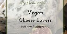 Vegan Cheese Lovers / There is no such thing as too much cheese - did a friend once told me. Truly cheese can be addictive and if you love it, then it is damn hard to become vegan.. or maybe not? Here are all vegan cheese recipes I intend to try or already did - these might ease a transition to a vegan lifestyle or can mean a healthy change to a normal diet once in a while.