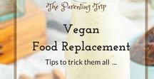 Vegan Food Replacement / Sometimes it is hard to get away from old cooking habits even if we strive for better health. This board collects recipes & tips to switch foods for a healthier vegan version...