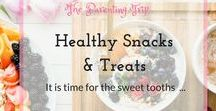 Healthy Snacks & Treats / The healthiest options for the small(er) hunger, snacks, treats & breakfasts for children and whole family - if possible all vegan:-) Sweet tooths pay attention, yummy just got extremely nutritious.
