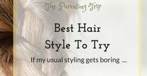 Best Hair Styles To Try / Don't you just get bored sometimes with your hair? A new updo, a funky pony, a great color or some newly mastered curls can change all that. In this board will be collected all hair styles I intend to try at some point or that I wish I could have:-)