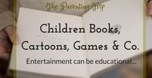Children Books, Games, Cartoons / Pins about best children books for all ages (toddlers to teens), movies that are educational but enjoyable, favorite TV series but also great toys, games and anything concerning the limits and frame in which these activities (reading, movies, TV, games) are best proposed to our kids.