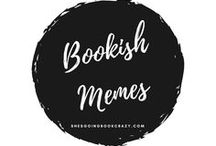 {Bookish Memes} / Book blogging memes that I use and participate in!