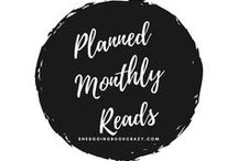 Planned Monthly Reads