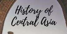 History of Central Asia / Central Asia has an astonishing history that is left ou of Eurocentric view of the World History. Explore the stories and legacies of the past era on the territory of Central Asia through interesting tours, images and legends.