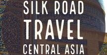 Silk Road in Central Asia / Silk Road was an important part of the history if whole Central Asia. For centuries Silk Road connected East with West and Central Asia was an important hub of international trade of goods and ideas