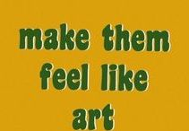 arty words