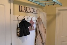 Home - Laundry / by Therese Sweitzer