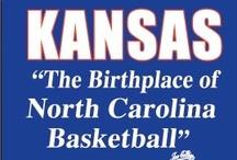 Rock Chalk / University of Kansas Basketball - KU Jayhawks - RCJH / by Kallie Feaster