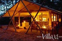 ☀ Glamping / Wist je dat wij ook luxe tenten aanbieden o.a. midden in de duinen of vlakbij het strand? Ideaal voor een glamping-vakantie!