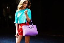 As seen in GLAMOUR UK / Swing your way into style with our new AW14 handbag selection. From trendy totes to stylish clutch bags, our celebrity ambassador; Millie Mackintosh proves that everyday is a handbag day. / by Folli Follie
