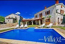 ☀ Vakantiehuizen Kroatië / De vakantiehuizen van Kroatië bij VillaXL.