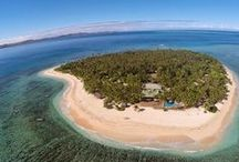 TAVARUA ISLAND HEAVEN, FIJI / A real heart-shaped island! Dreaming of warm waters and perfect waves of Tavarua Island Resort in Fiji.