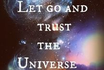 Courage / Trust and let go. Quotes, wisdom and inspiration for brave souls.