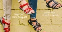 Therafit Sandals - 2018 / Therafit Sandals are the go-to for women looking for style & comfort. Our patented technology provides cushioning and support, helping to reduce everyday aches and pains.