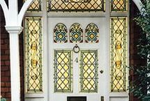 Client Inspiration - Victorian & Edwardian Style / Design inspiration based on Victorian and Edwardian stained glass.