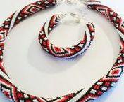 Beads / Бисер / Beads jewelry, embroidered pictures, clothes / Украшения из бисера, вышитые бисером картины, одежда