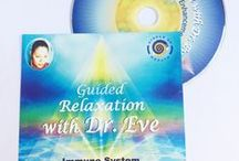 Dr. Eve Guided Relaxation CD's with Mindfulness Quotes / Heal yourself with the amazing gemstones, health and wellness products and services from Dr. Eve Allen, link into her healing world here at http://www.doctoreve.com/