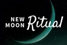 Learning Lunar Living / Lunar Ladies' tips for living with the Moon. Great ideas to get women connected to their inner Wisdom and rhythms living a lunar lifestyle.