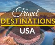 Travel Destinations | USA / Collection of best travel destinations across USA. Top places to visit in the USA. Things to do in the USA.