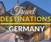 Travel Destinations | Germany / This board is a collection of best travel destinations in Germany.  Best things to do in Germany. Top cities in Germany. Top tourist destinations in Germany.