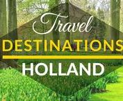 Travel Destinations | Holland / This board is a collection of best travel destinations in HOLLAND.  Best things to do in the Netherlands. Top cities in the Netherlands. Top tourist destinations in the Netherlands.
