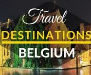 Travel Destinations | Belgium / This board is a collection of best travel destinations in BELGIUM.  Best things to do in Belgium. Top cities in Belgium. Top tourist destinations in Belgium.