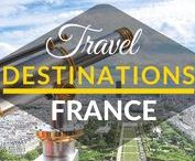 Travel Destinations | France / This board is a collection of best travel destinations in FRANCE. Best things to do in France. Top cities in France. Top tourist destinations in France.