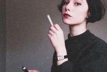 smoking / smoke smoking cigarette  follow me for more :)