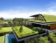 Eco architecture and interiors / The environment is critical for the world and we believe everyone could do something positive. These designs and designers are showing off the best in environmental design. We love it, go green!