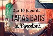 ¡Tapas! / Different tapas you can find in Spain!
