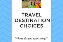 Travel Destination Choices / When it comes to travelling, we can be faced with so many options. Where to go, what's the best place to visit, what season is the best ...To help you with your travel destination choices, let these fellow travellers show you the places to visit.