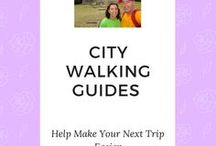 City Walks with TravelKiwis / City Walks with TravelKiwis provides an easily accessible walking map with places of interest and corresponding photos to learn more of a city's history.