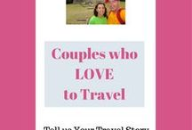 Couples who LOVE Travel / Travelling as a couple is a way to share the memories of a life time. This board is to give inspiration, highlight some  of the pitfalls, but most of all to show what is possible together.