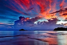 Beaches at sunrise and sun sets / by Janet Mckinnon