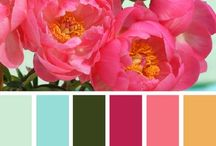 A Little Color to Inspire / Color Inspiration from clothes to home decor