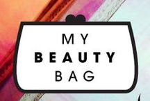 Beauty Bag / Some of My Favorite goodies. GOD, yes, I am a product-ho.