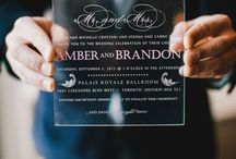 Wedding_Invitation Inspiration / Save The Date and Invitation Ideas  / by A Monique Affair