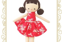 Alimrose Designs Dolls / The beautiful design and gorgeous fabrics are why Alimrose make the sweetest dolls & loveliest baby accessories. / by Button Baby Shop