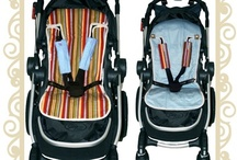 Pram & Stroller Accessories / Your kids will look cool and feel comfortable with these prams and accessories. / by Button Baby Shop