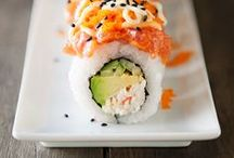 Asian food | Sushi lover / Food & dishes from everywhere around the world, specially from Asia.  / by The Creative Adventure ♡