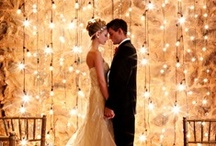 Let there be light! / Lighting is key to weddings and events. It sets the mood you want to convey. Let our expert planners create the perfect tone for your wedding + event!