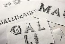 Typography & Fonts / by Hannah Tomlinson