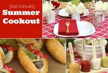 Summer Cookouts and Fun in the Sun / Great Summer Recipes and fun ideas for the family with BBQs and Pool Parties in mind! / by BlueStar Cooking